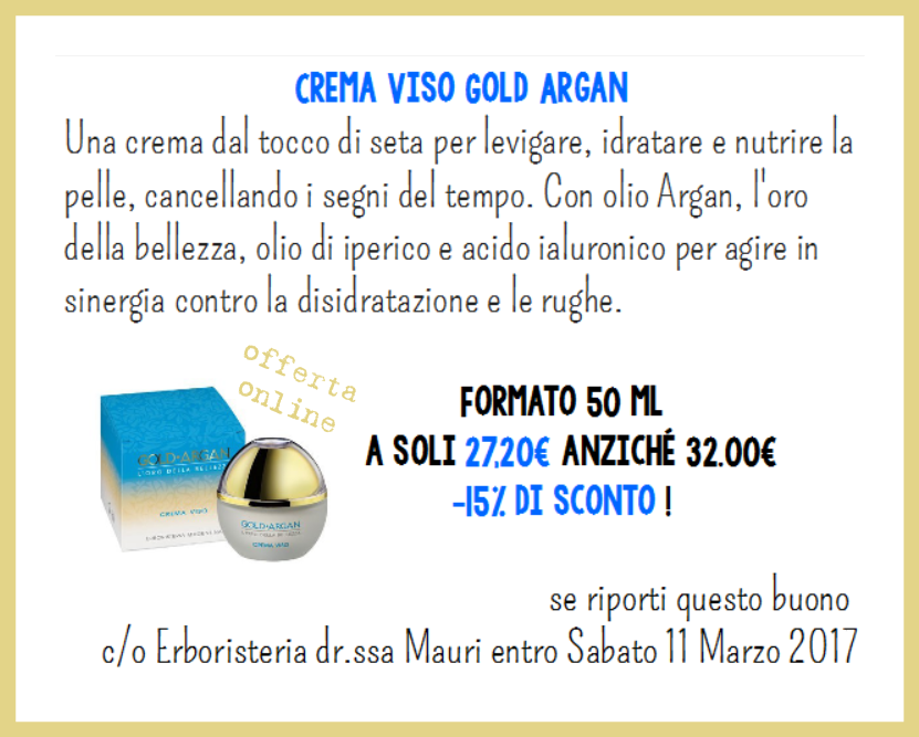 coupon crema viso argan WEB