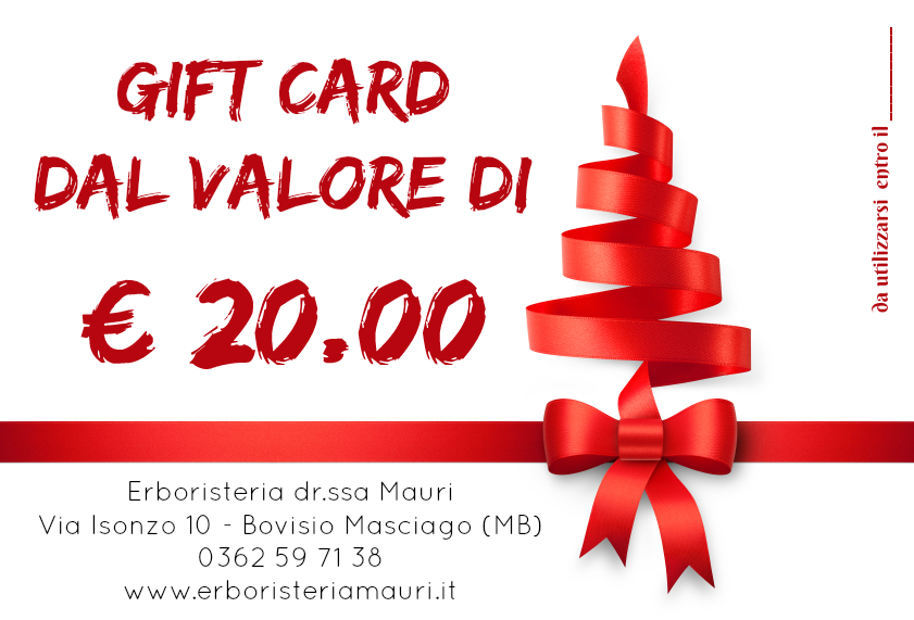 gift 20€ natale